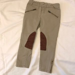 Girls Ralph Lauren khaki jodhpurs